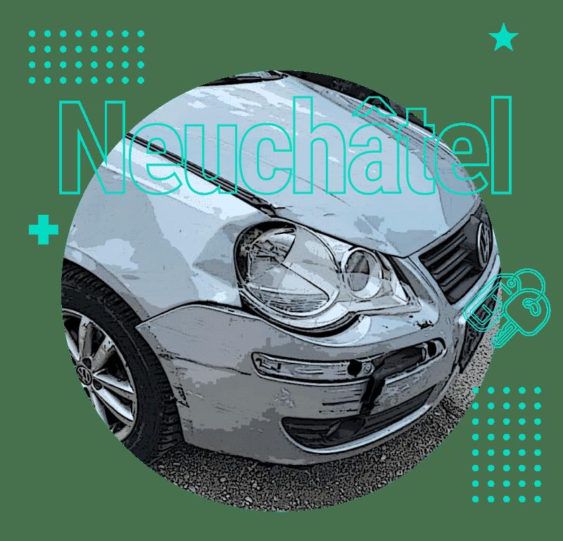 Rachat de voitures accidentées à Neuchâtel au meilleur prix